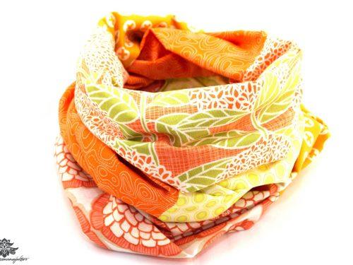 Tuch orange Baumwolle