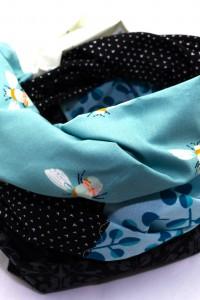 Blaues Tuch Baumwolle
