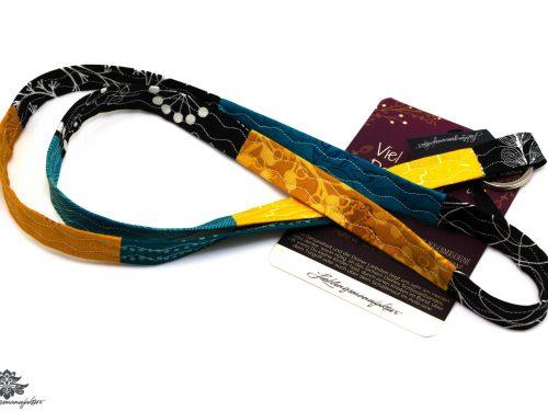 Schmales Stoffschlüsselband