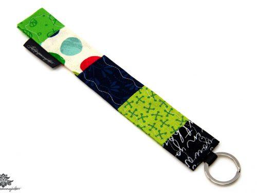 Grüner Schlüsselanhänger