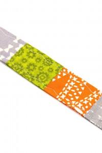 Stoffschlüsselanhänger orange