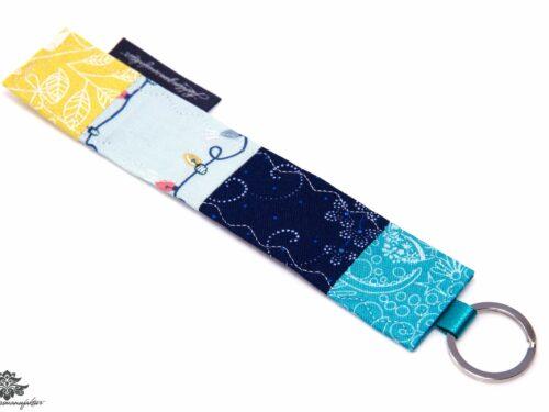 Schlüsselanhänger türkisblau