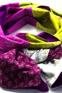 Tuch lila