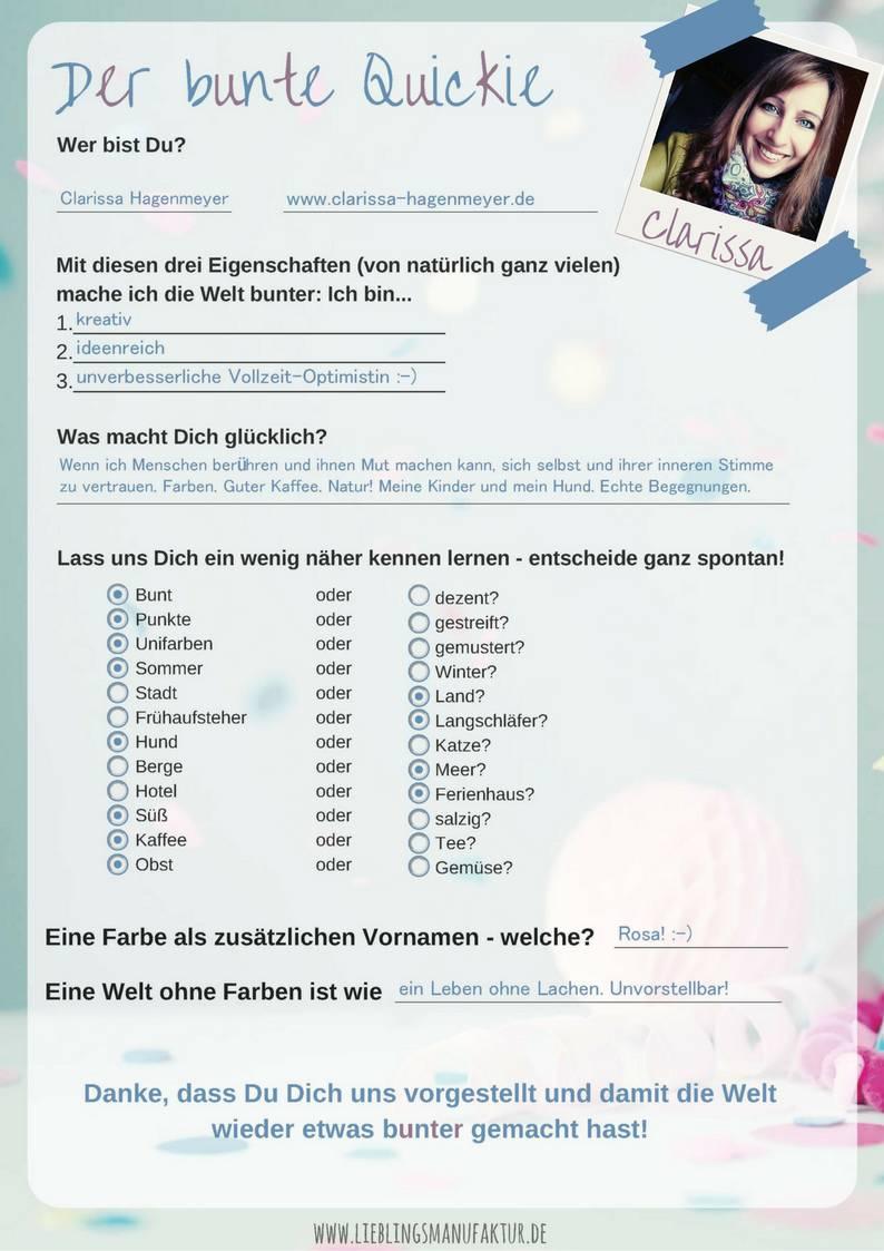 Fragebogen Clarissa Hagenmeyer