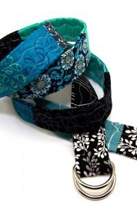 Gürtel blau schwarz
