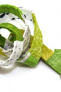 Gürtel grün weiss