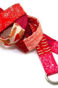 Gürtel rot pink