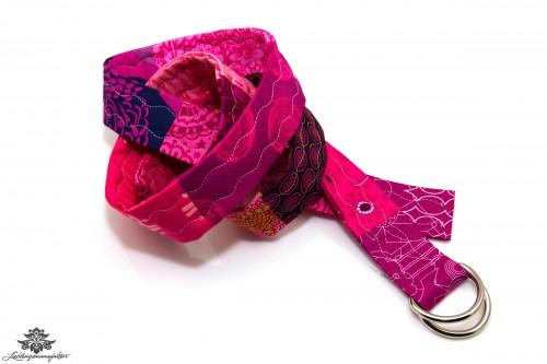 Stoffgürtel pink