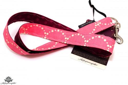 Schlüsselband pink