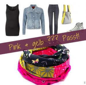 Passen pink und gelb zusammen?