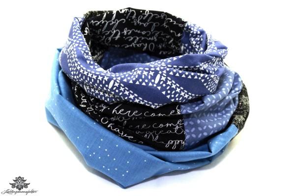 Tuch blau schwarz (4)