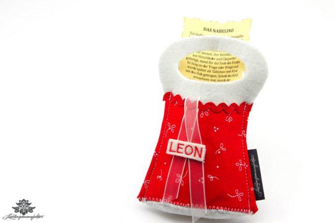 Das Nabelino Geschenk Baby personalisiert