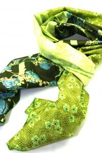 Dünnes Tuch grün
