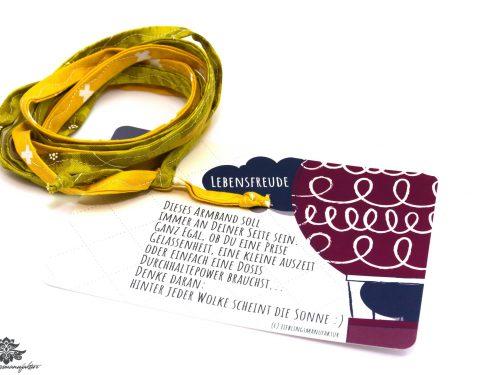 Armband Stoffband