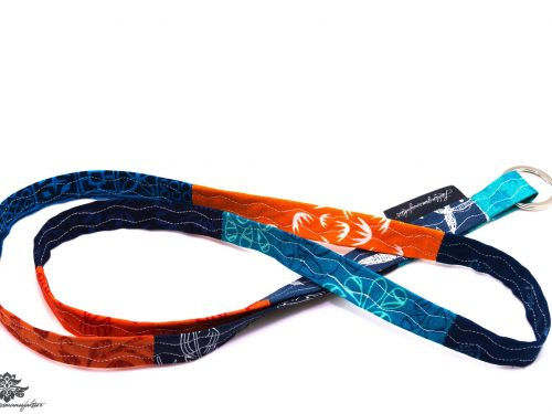 Schlüsselband Lanyard blau