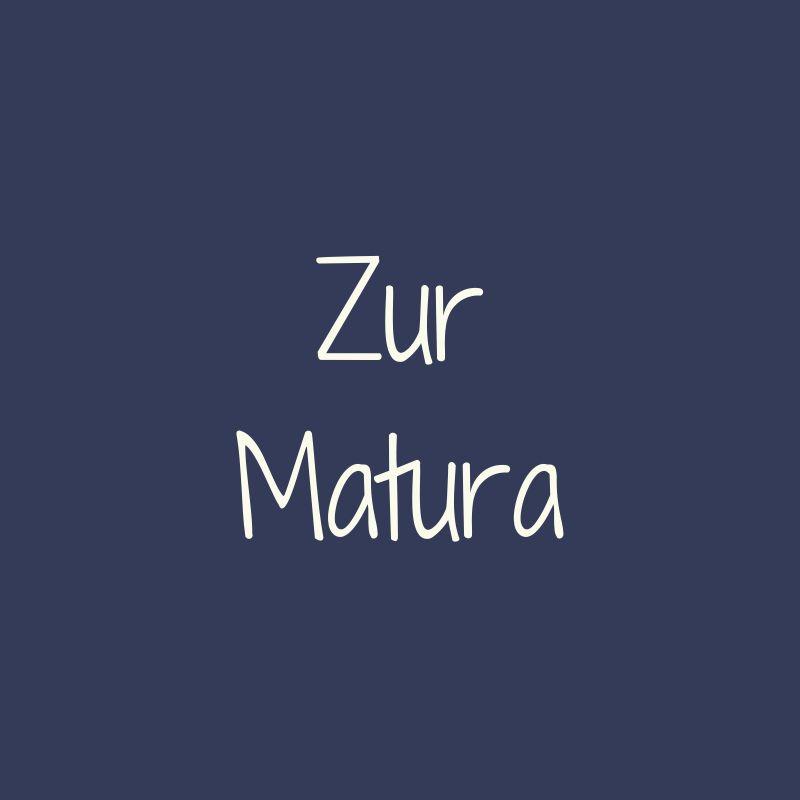 Bild für die Bunten Botschaften für Matura